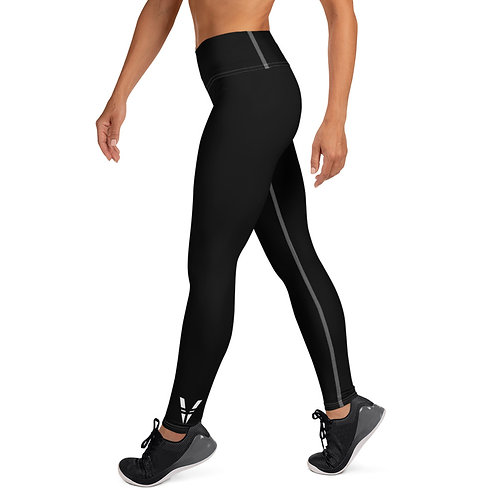 V Womans Leggings Black