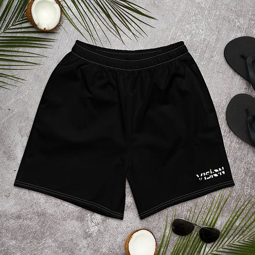 Vision Mens Shorts Black