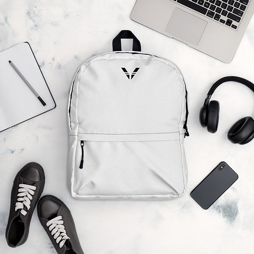 V Backpack White