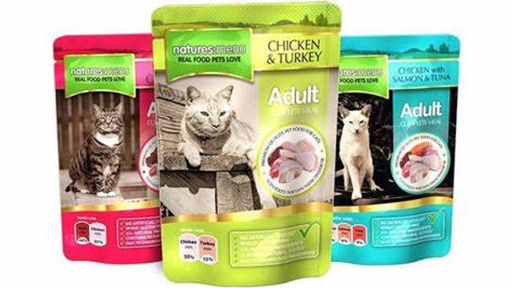 Natures Menu Adult Cat Pouches 12s