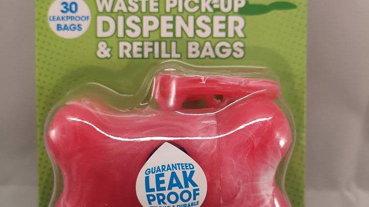Bags on Board Poop Bag Dispenser Bone