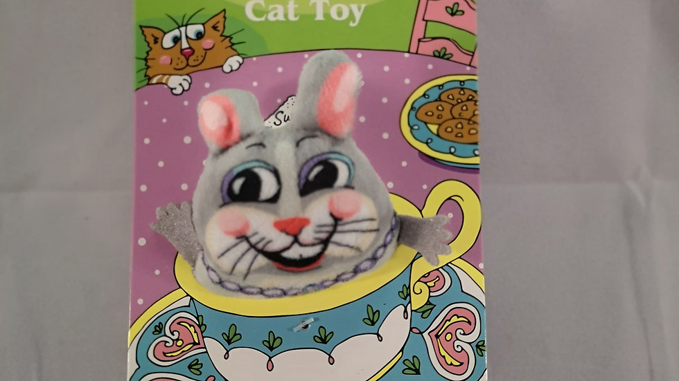 Teacup Fluffs Bunny Cat Toy