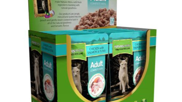 Natures Menu Cat Pouches Chicken with Salmon and Tuna