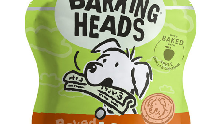 Barking Heads Apple Snaffles Dog Treats