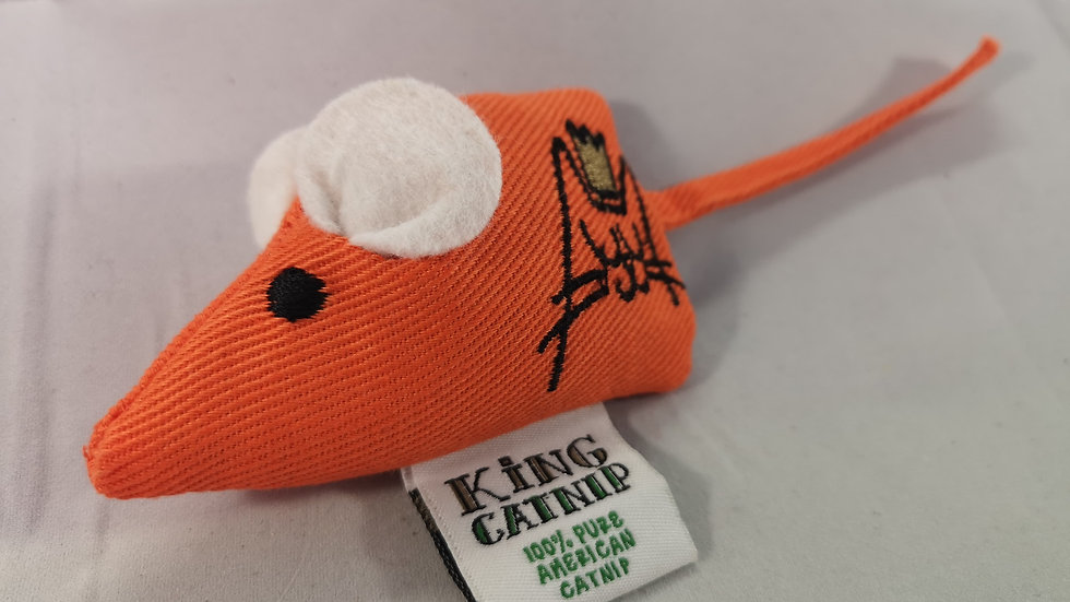 King Catnip Mouse Refillable Cat Toy