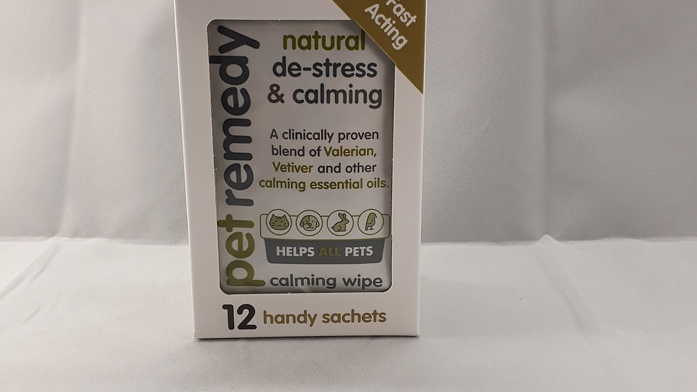 Pet Remedy Calming Wipes