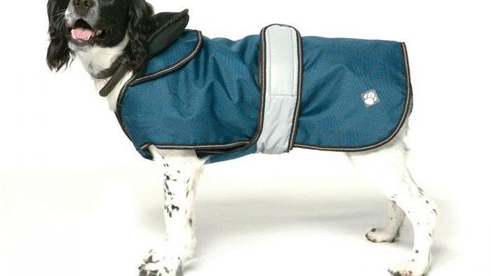 Danish Design 2 in 1 Dog Coat Blue