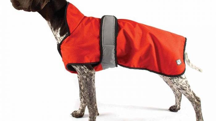 Danish Design 2 in 1 Dog Coat Orange