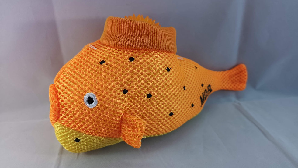 Pablo the Pufferfish 2 in 1 Dog Toy