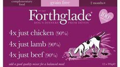 Forthglade Just Multicase Grain free Dog Food