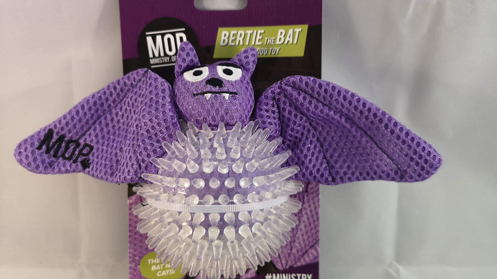Bertie the Bat 2 in 1 Dog Toy