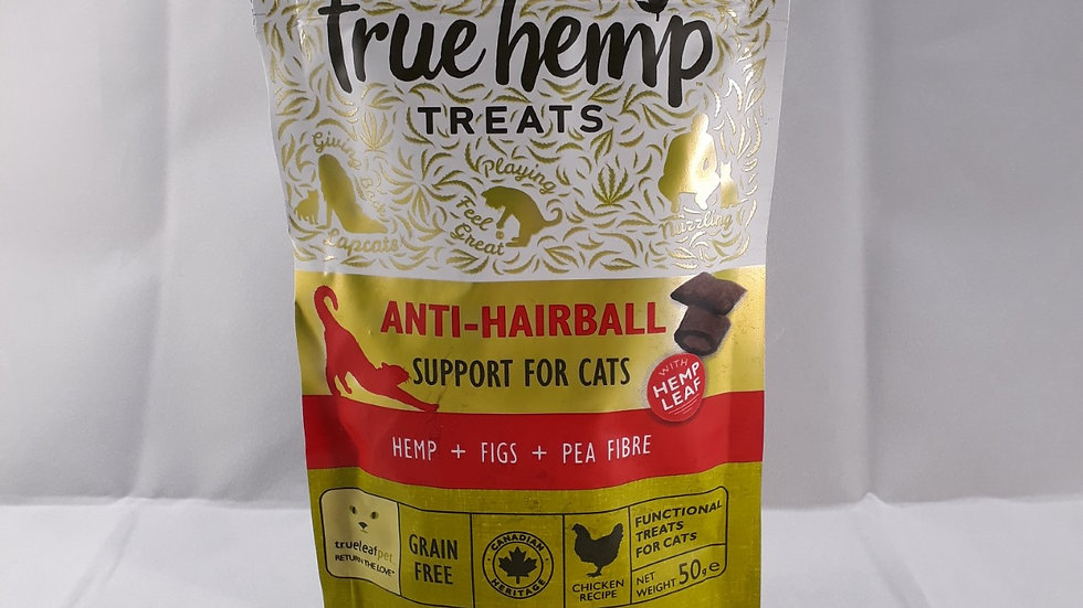 True Hemp Treats Anti-Hairball Support for Cats