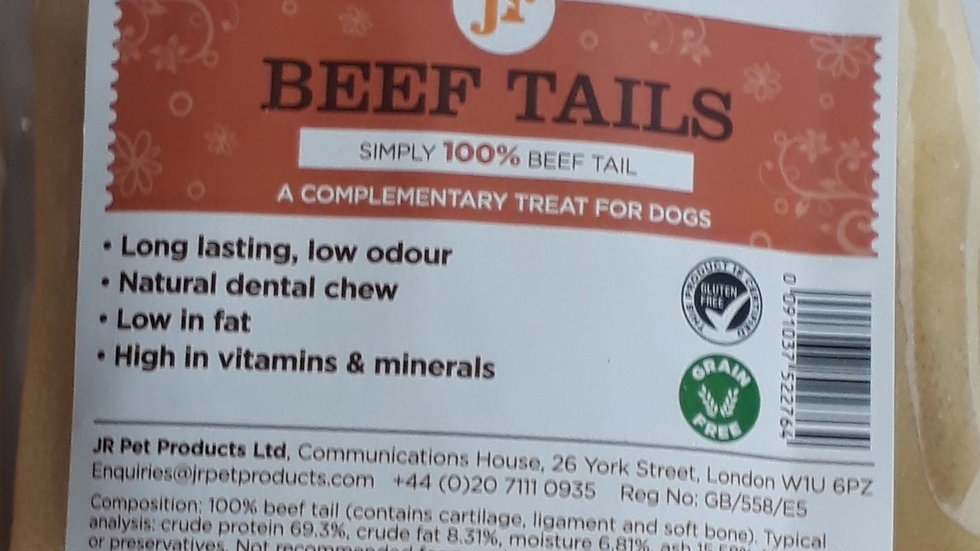 Jr Pet Products Beef Tails
