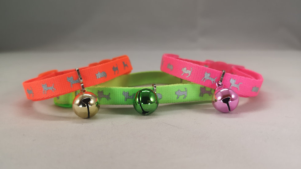 Ancol Cat Reflective Collar with Safety Buckle