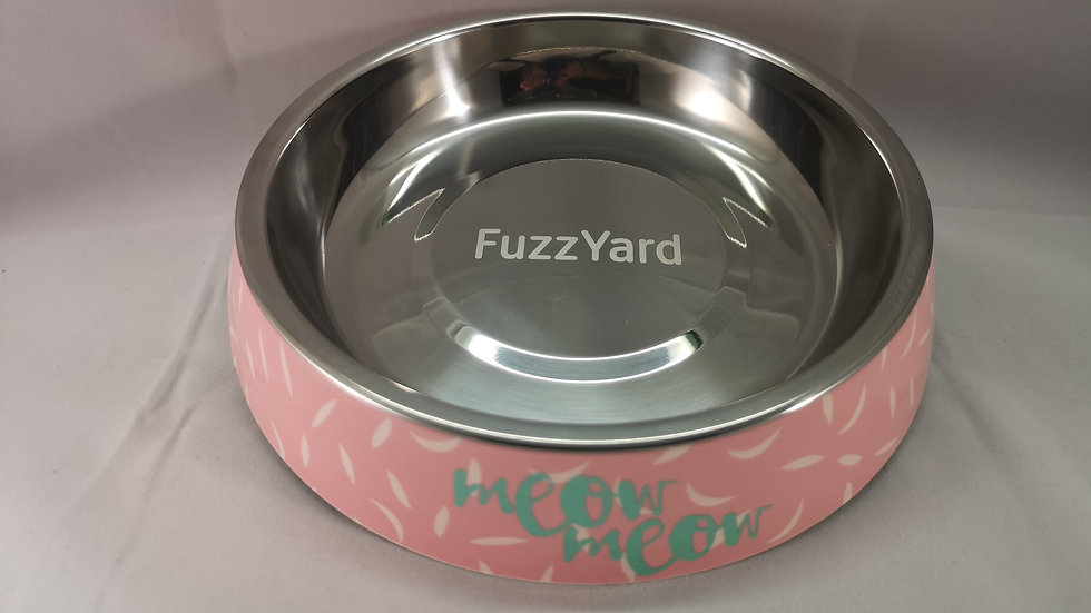Fuzzyard Cat Melamine Bowl