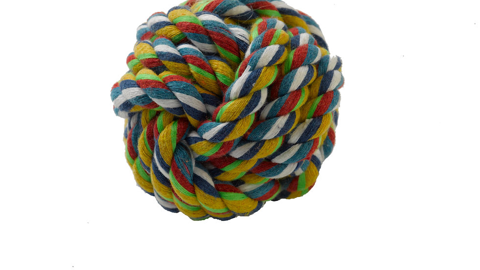 Braided Rope Ball 6cm