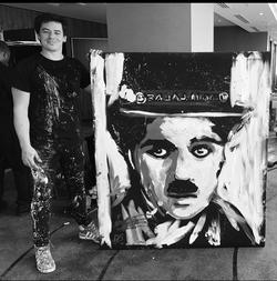 'Chaplin 'Upside Down