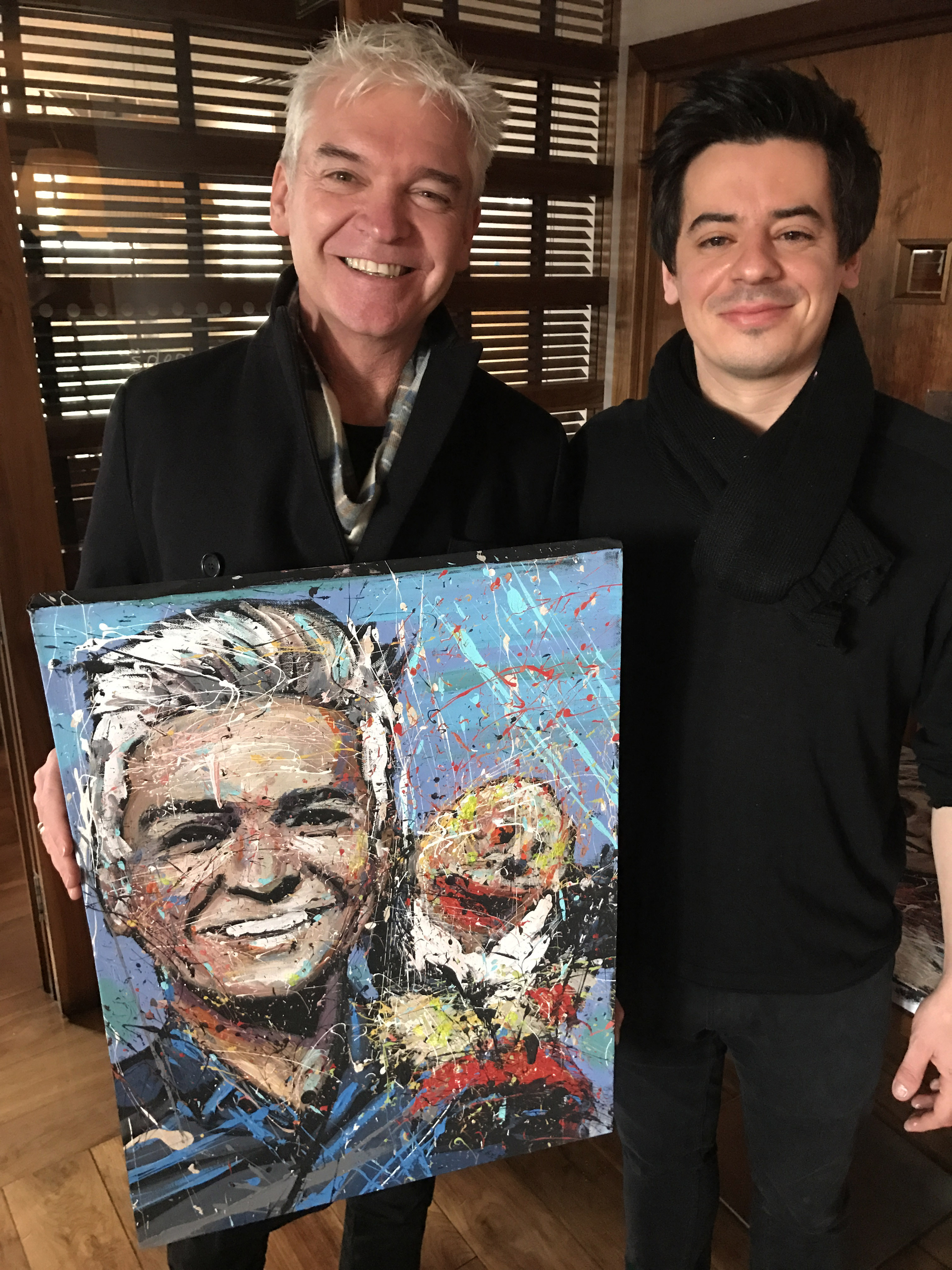 Phillip And 'Gordon The Gopher'