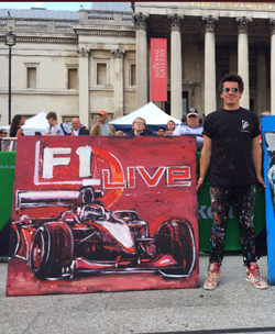 F1 Live, Trafalgar Square, London