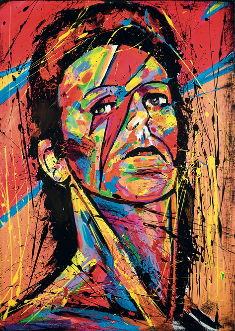 'ZIGGY' (HIGH QUALITY PRINT)