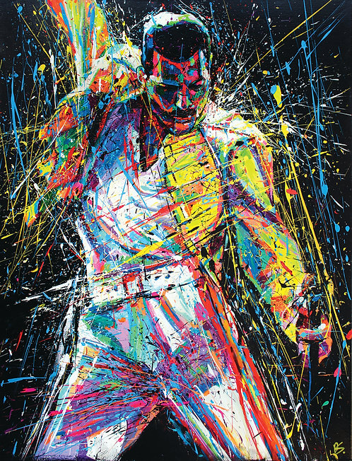 'FREDDIE MERCURY' (HIGH QUALITY PRINT)