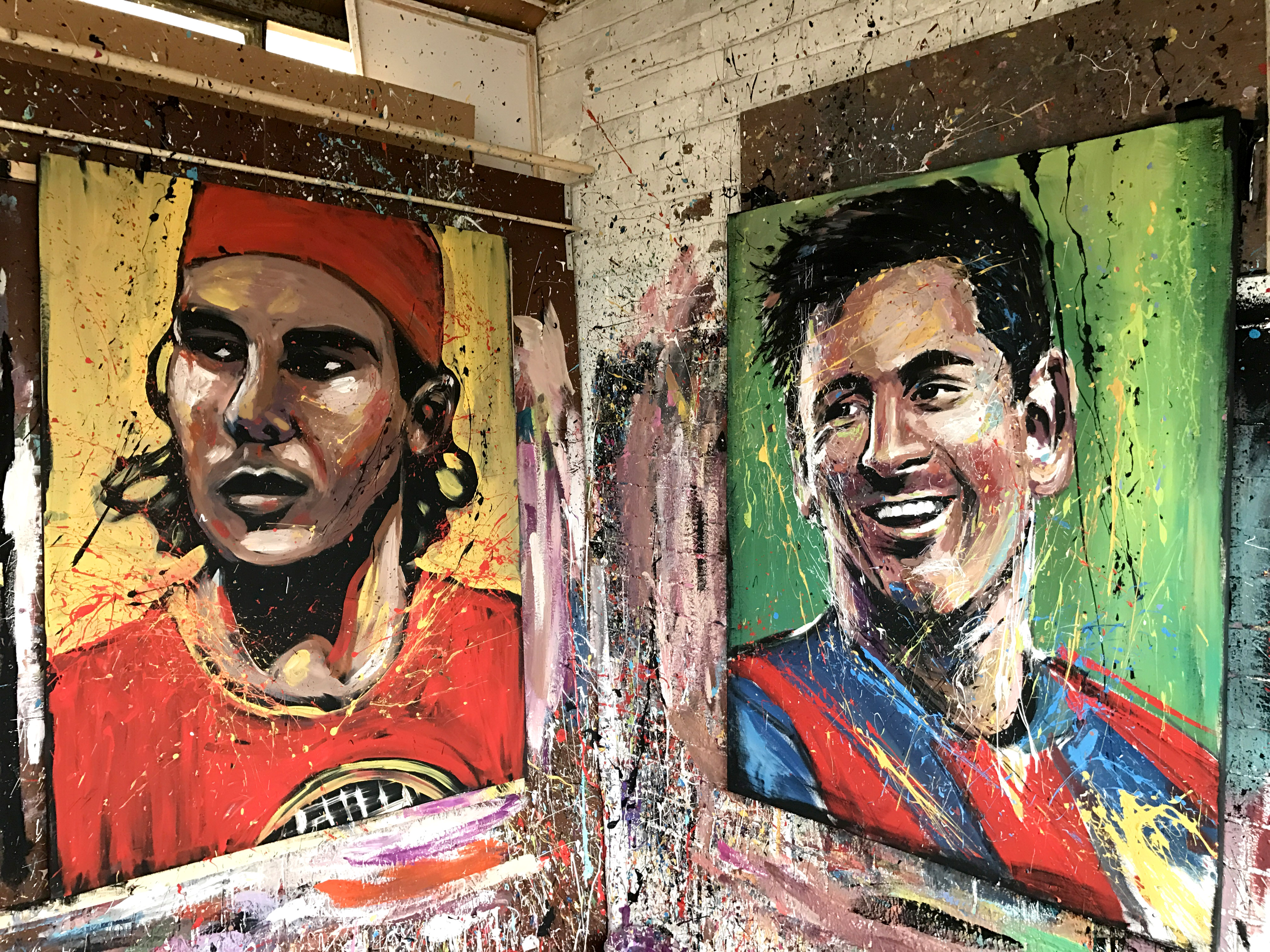 'Nadal And Messi'
