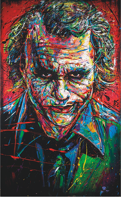 THE JOKER (HIGH QUALITY PRINT)