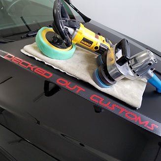 Decked Out Customs Detailing Shop Buffers