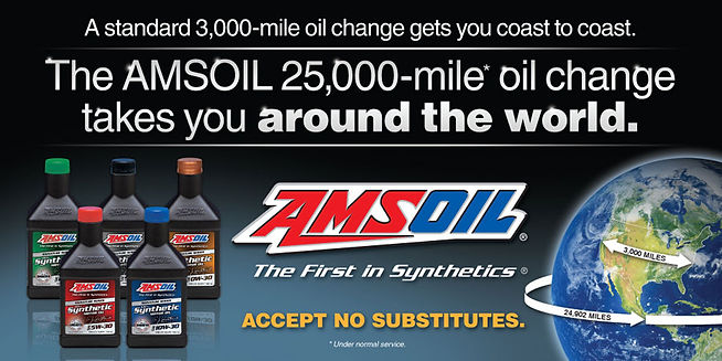Amsoil going around the world with 1 oil change