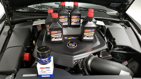 Decked Out Customs CTSV Amsoil Oil Change