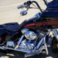 Decked Out Customs Harley Roadglide Fresh Detail