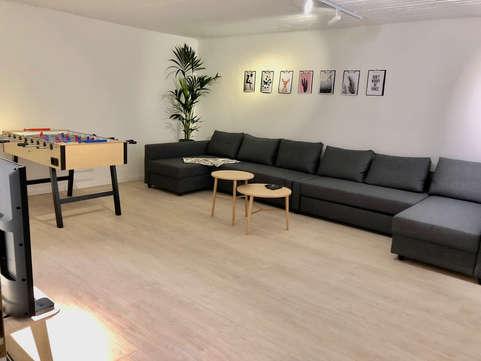 Gemeinschaftsraum / common room Spacious Central Station Apartment