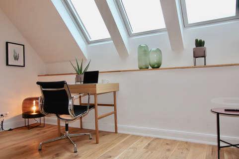 Arbeitsplatz / workspace Superior Innercity Loft