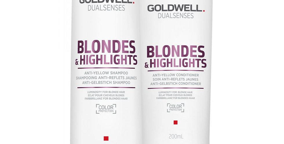 Blonde & Highlights Anti-Yellow Shampoo & Conditioner