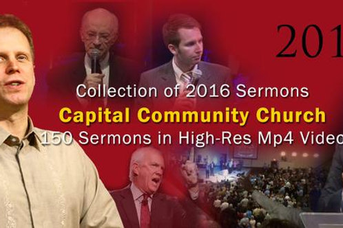 2016 Complete Collection of Video Sermons (USB)