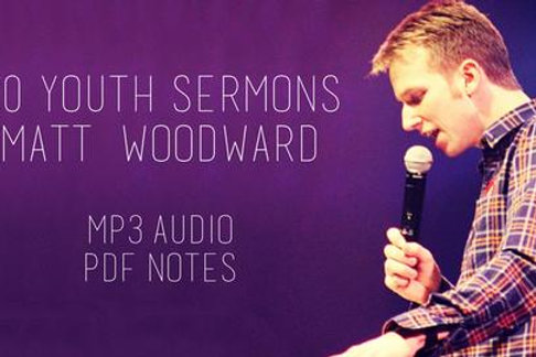 50 Youth Sermons (MP3 Audio and PDF Notes)