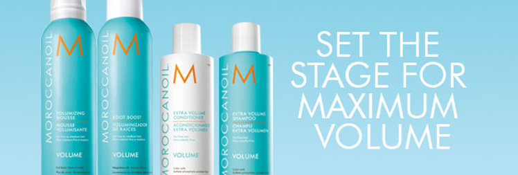Moroccan VOLUME Products