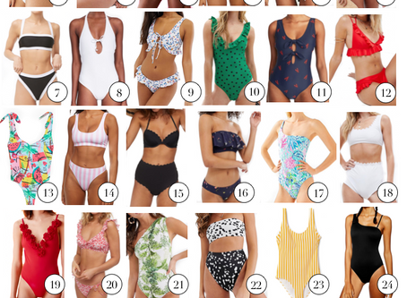All the Swimsuits You Need This Summer (All on a Budget!)