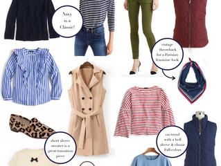 Early Fall Wardrobe Essentials