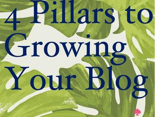 Four Pillars of Growing Your Blog