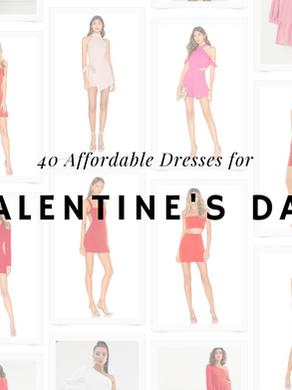 40 Affordable Valentine's Day Dresses❤️