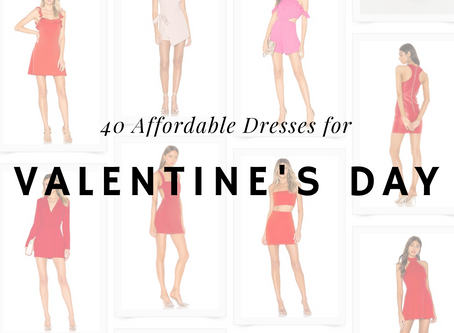 40 Affordable Valentine's Day Dresses❤️