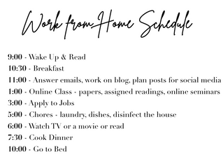 Tips for Adjusting to Temporary Life at Home