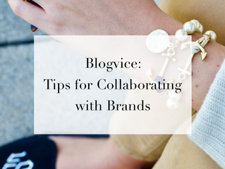 Blogvice: How to Connect with Brands