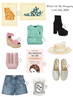 What's In My Shopping Cart: July 2020