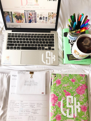 How I Stay Organized on a Busy Schedule
