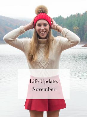 Life Update: November