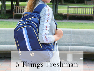 5 Things Freshmen Should Do Their First Semester