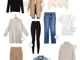 10 Fall Wardrobe Necessities