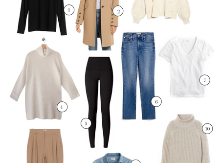 10 Fall Wardrobe Necessities